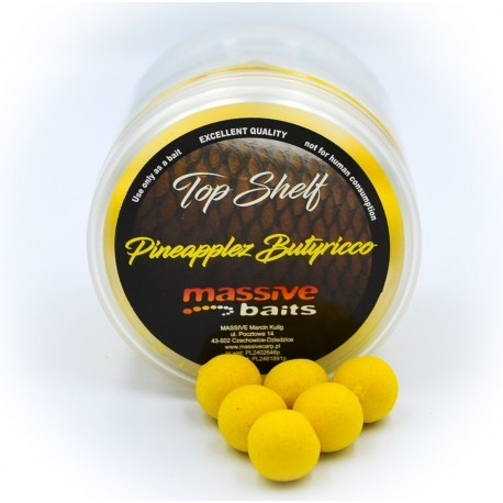 Massive Baits Pineapplez Butyricco Pop-Ups 14mm