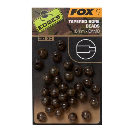Fox Camo Tapered Bore Beads 6mm 30szt