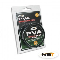 NGT Narrow Refill - 7m x 25mm PVA Mesh