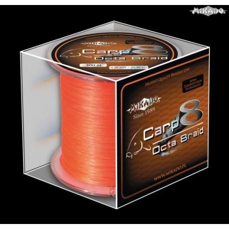 Carp Octa Braid Orange 600m 0,16mm 12,90kg