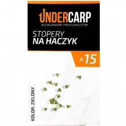 Undercarp Stopery na haczyk – zielone