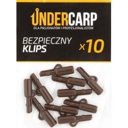 Undercarp Bezpieczny klips brązowy