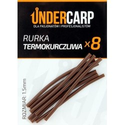 Undercarp Rurka termokurczliwa brązowa 1,5 mm
