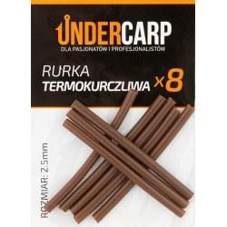 Undercarp Rurka termokurczliwa brązowa 2,5 mm