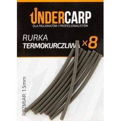 Undercarp Rurka termokurczliwa zielona 1,5 mm