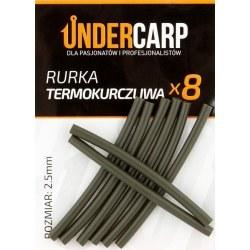 Undercarp Rurka termokurczliwa zielona 2,5 mm
