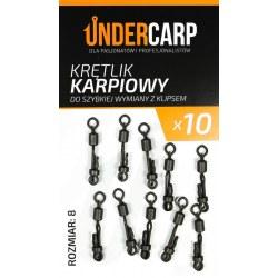 Undercarp Krętlik karpiowy do szybkiej wymiany z klipsem