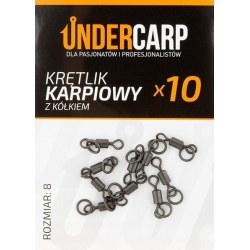 Undercarp Krętlik karpiowy z kólkiem rozmiar 8