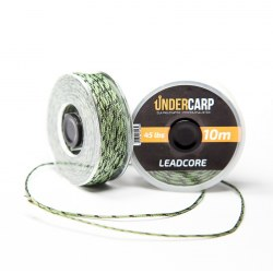 Undercarp Leadcore 10 m/45 lbs – zielony
