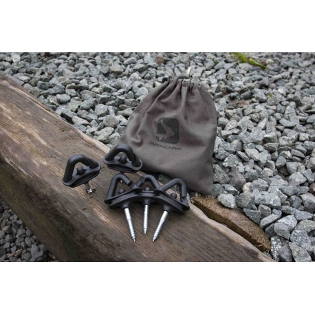 Avid Carp Screw Steady Bivy Pegs