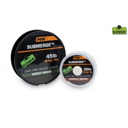 Fox Submerge Green - Leadcore bez rdzenia