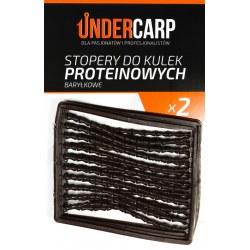 Undercarp Stopery do kulek proteinowych baryłkowe – brązowe