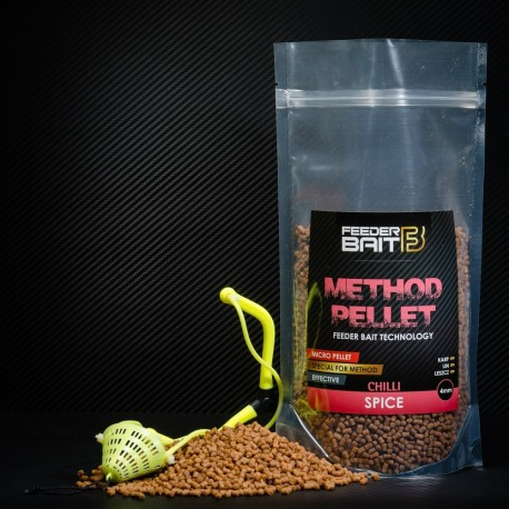 Feeder Bait Micro Pellets Spice Chilli 4mm 800g
