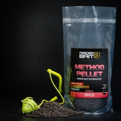 Feeder Bait Micro Pellets Spice Chilli 4mm 800g Black
