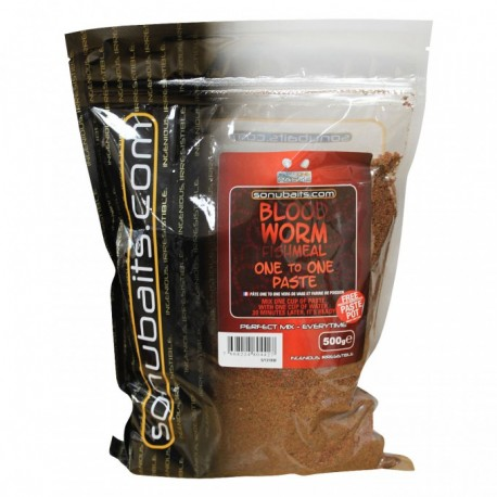Sonubaits ONE to ONE Paste Bloodworm Fishmeal 500g