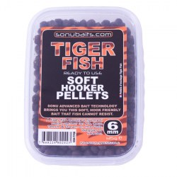 Sonubaits Soft Hooker Pellets Tiger Fish 6mm