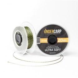 Undercarp Plecionka przyponowa 20 m/15 lbs ULTRA SOFT – zielona