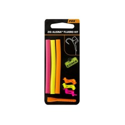 Fox Zig Aligna Kit Fluo (orange/yellow/pink)