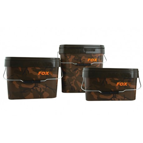 Fox Camo Square Buckets - 5 Litre