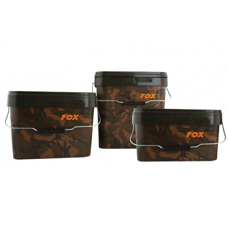 Fox Camo Square Buckets - 10 Litre