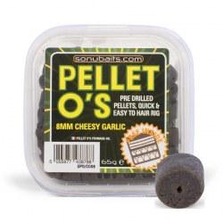 Sonubaits Cheesy Garlic Pellet O's 8mm
