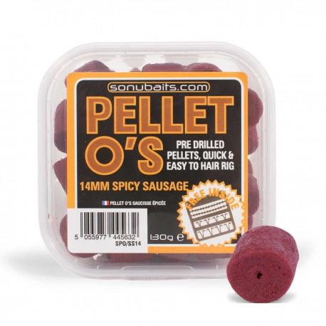 Sonubaits Spicy Sausage Pellet O's 14mm