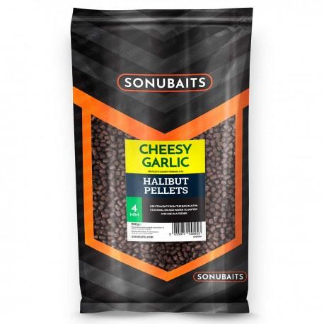 Sonubaits Cheesy Garlic Halibut Pellet 4mm 900g