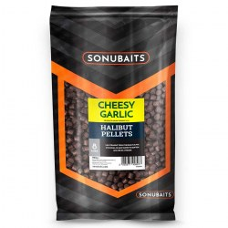 Sonubaits Cheesy Garlic Halibut Pellet 8mm 1kg