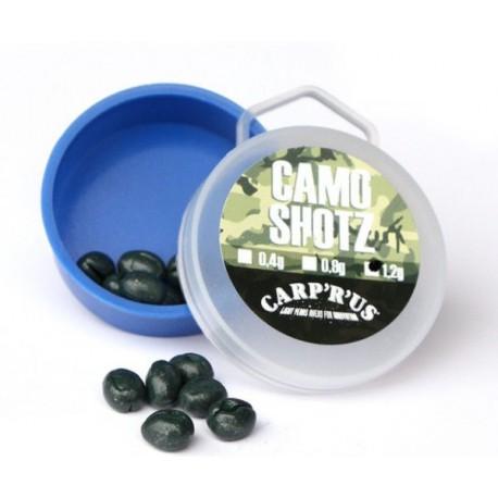Carp'R'Us Camo Shotz 0,40 g Camo Green
