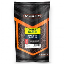 Sonubaits Cheesy Garlic Halibut Pellet 6mm 1kg