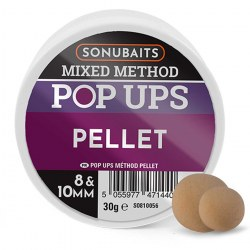 Sonubaits Mixed Method Pop Ups 8mm & 10mm - Pellet