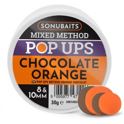 Sonubaits Mixed Method Pop Ups 8mm & 10mm - Chocolate Orange