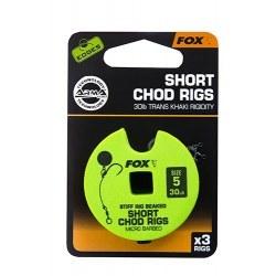Fox Chod Rigs Short 30lb size 5