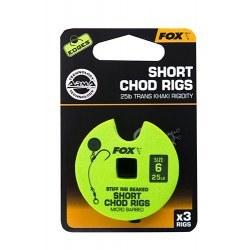 Fox Chod Rigs Short 25lb size 6