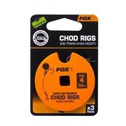 Fox Chod Rigs Standard 30lb size 4