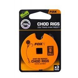 Fox Chod Rigs Standard 25lb size 6