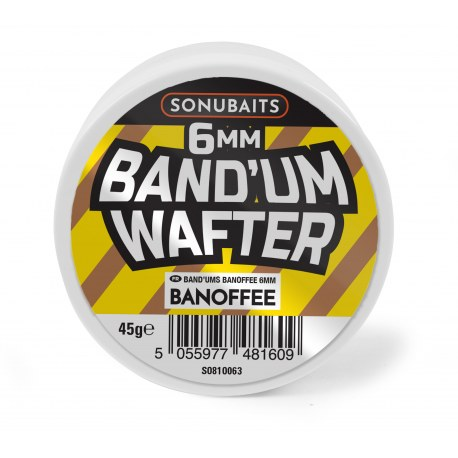 Sonubaits Band'Um Wafters 6mm Banoffee