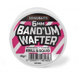 Sonubaits Band'Um Wafters 6mm Krill & Squid
