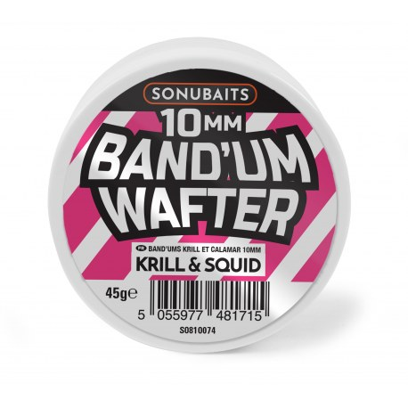 Sonubaits Band'Um Wafters 10mm Krill & Squid