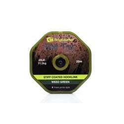 Ridge Monkey RM Tec Stiff Coated Hooklink 25lb Weed Green