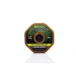 Ridge Monkey RM Tec Soft Coated Hooklink 25lb Organic Brown
