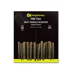 Ridge Monkey Anti Tangle Sleeves 25mm Organic Brown