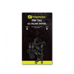 Ridge Monkey RM-Tec Quick Change Inline Swivel size 8