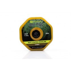 Ridge Monkey RM Tec Soft Coated Hooklink 35lb Camo