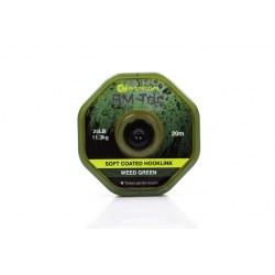 Ridge Monkey RM Tec Soft Coated Hooklink 35lb Weed Green