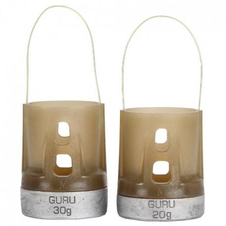 Guru X-Change Distance Feeder Solid Medium 40g+50g