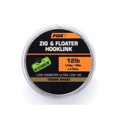 Fox Zig & Floater Line Trans Khaki 12lb (5.44kg) 0.280mm
