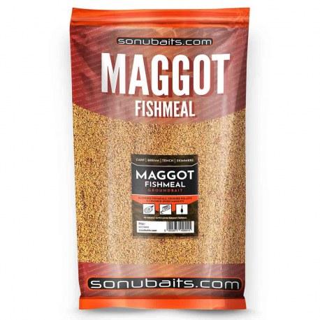 Sonubaits Maggot Fishmeal Groundbait 2kg