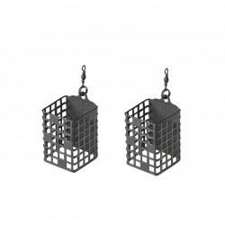 Mivardi Cage Feeder Premium Square 30g 2 sztuki