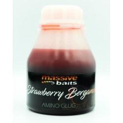 Massive Baits Strawberry Bergamotta Boilie Glug
